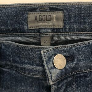 Agolde Jeans - AGOLDE Sophie High Waisted Skinny Jeans